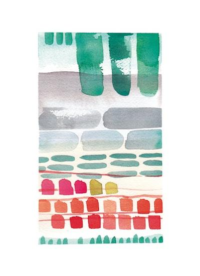 art prints - stacks by Kelly Ventura