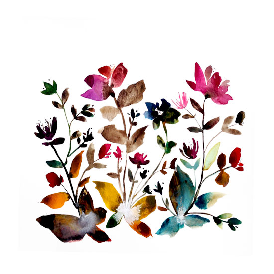 art prints - island wildflowers no.6 by Kiana Mosley