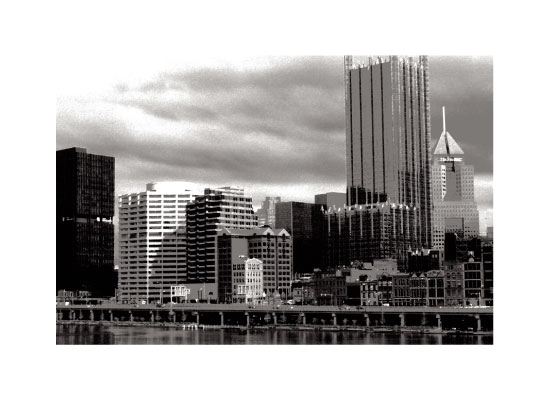 art prints - View from Station Square, Pittsburgh, PA by Trisha Goldstrom