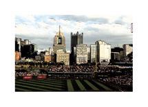 Pittsburgh Pirates View by Trisha Goldstrom