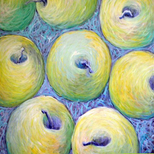 art prints - GOLDEN APPLES by Me Amelia