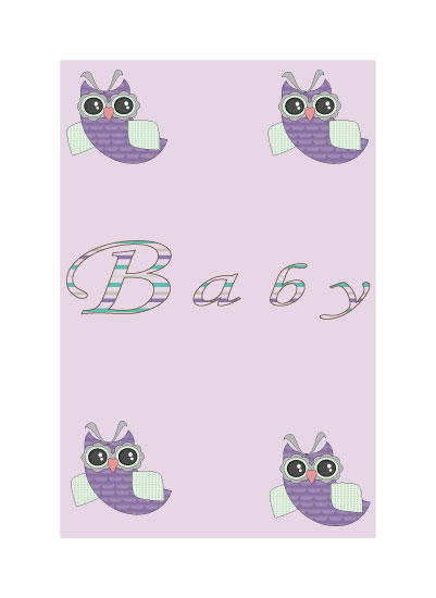art prints - Baby Owls by Jessica Sunday