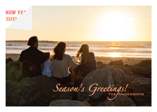 holiday photo cards - Turn a New Page by Shrubabati