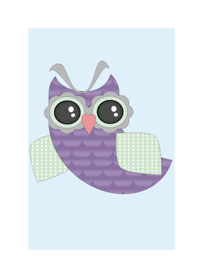art prints - Owl by Jessica Sunday