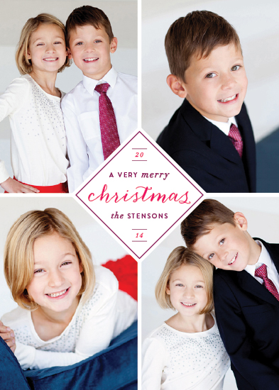 holiday photo cards - Very Merry Christmas by Hooray Creative