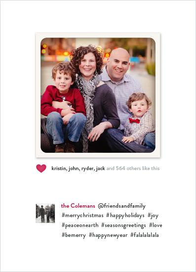 holiday photo cards - Christmas Gram by Hooray Creative