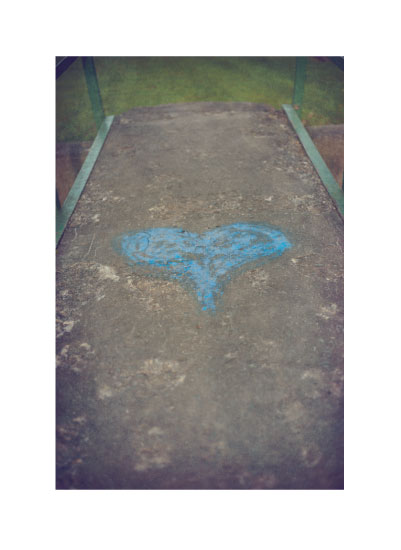 art prints - My Heart is Blue by Smile Peace Love