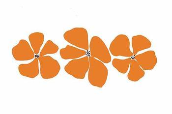 Trio in Orange