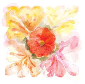 art prints - Pink Whisper Famagusta by Beth Beaver