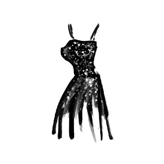 art prints - Sparkle Dress by Charis