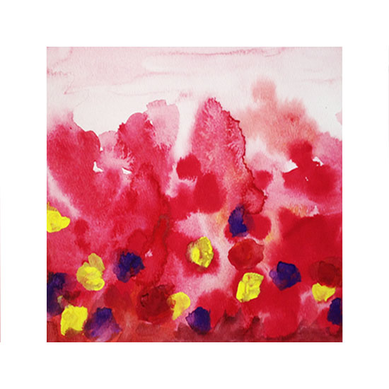 art prints - Garden in Bloom by Katherine Moynagh