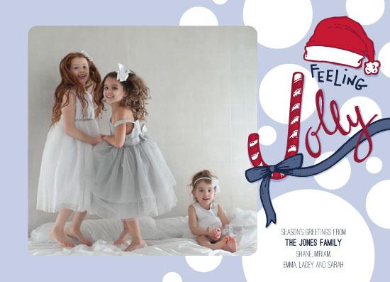 holiday photo cards - Feeling Jolly by Jenna Myers