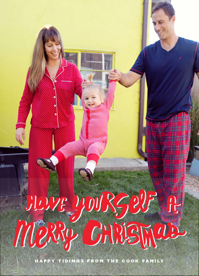 holiday photo cards - Have Yourself A Merry Christmas by Bonnie Kate Wolf