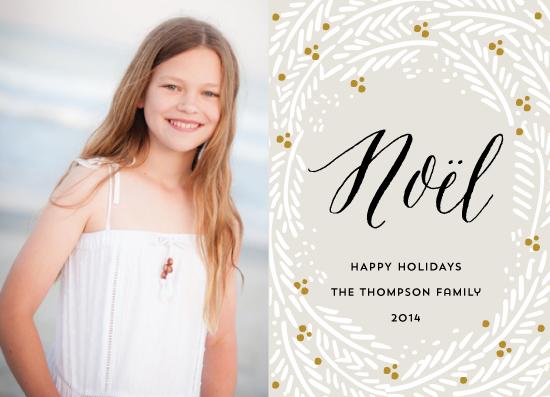 holiday photo cards - Noel Noel by Petra Kern