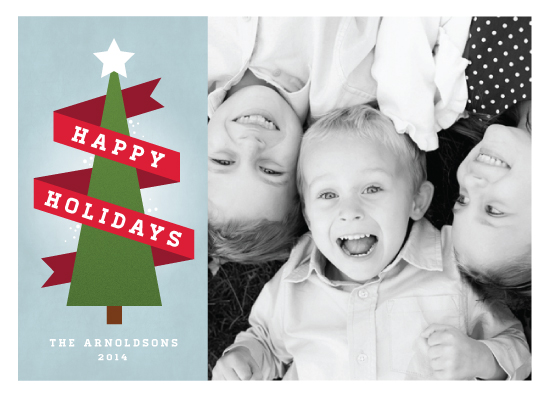 holiday photo cards - holiday banner by JeAnna Casper