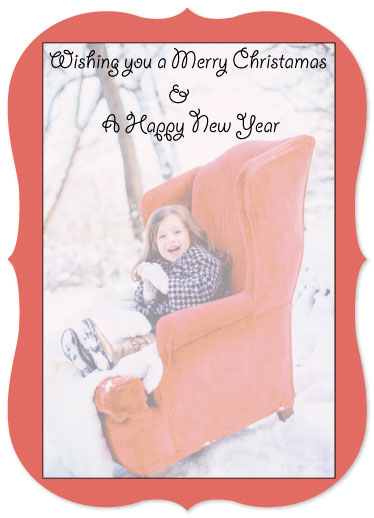 holiday photo cards - Laughter by Kristin