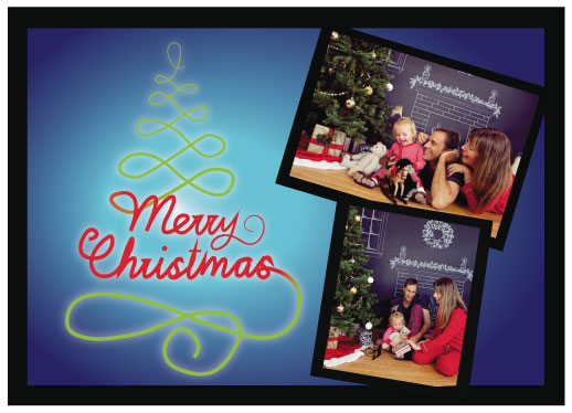 holiday photo cards - Elegant Christmas by Nathan Miller