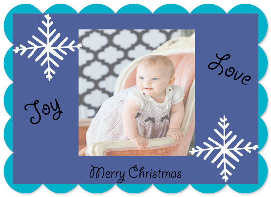 holiday photo cards - Joy of Christmas by Kristin