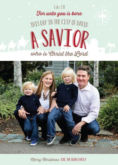 holiday photo cards - Gospel Christmas by Leila Rookstool