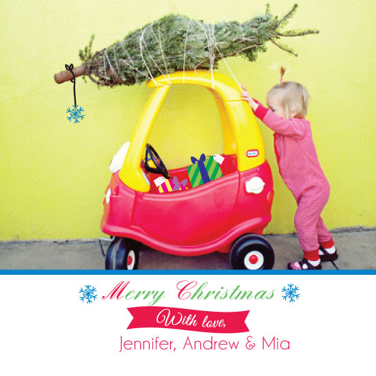 holiday photo cards - Christmas tree pick by chevaughne Brown