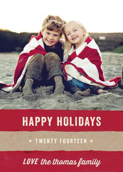holiday photo cards - Kraft and Cane by Hooray Creative