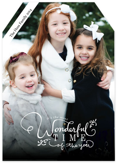 holiday photo cards - Wonderful Time of the Year by Jenna Myers