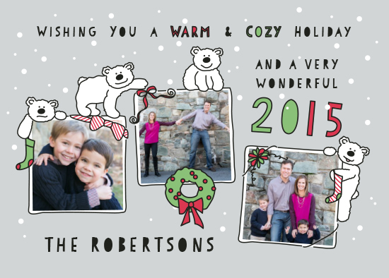 holiday photo cards - From Our Igloo to Yours by Molly Courtright