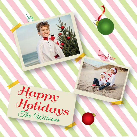 holiday photo cards - Polaroid by chevaughne Brown