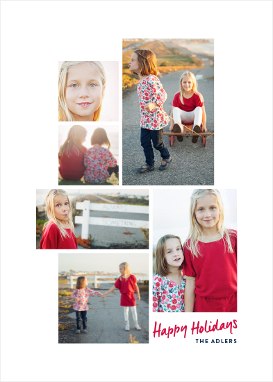 holiday photo cards - Minimal Gallery by Hooray Creative