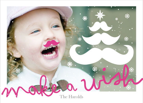 holiday photo cards - make a wish by Becky Harold