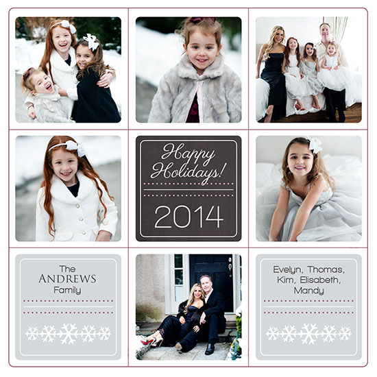 holiday photo cards - Happy FamilyCard by Lulu
