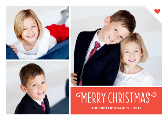 holiday photo cards - Heart Tag by Kim Dietrich Elam