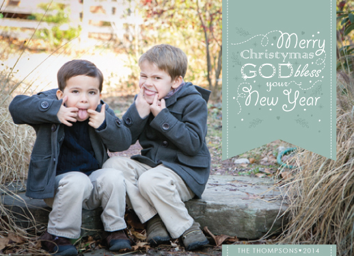 holiday photo cards - Merry Christymas 2014 by Ligia Kuhn