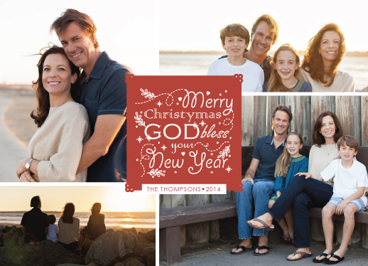 holiday photo cards - Merry Christymas Photos 2014 by Ligia Kuhn
