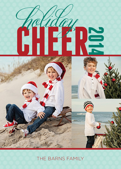 holiday photo cards - Red Cheer by Megan Acelar