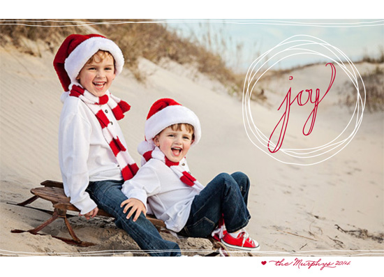 holiday photo cards - Continuous Joy by Yvette Slaney