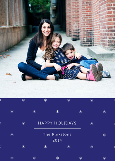 holiday photo cards - Snowy, Snowy Night by Julie Kelley
