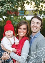 Merry and Bright Swirls by Christina Pena Pittre