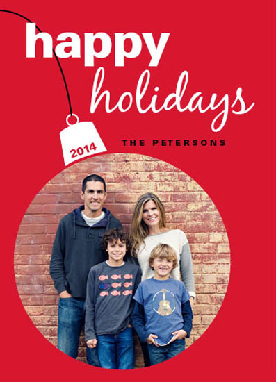 holiday photo cards - The Christmas Ornament by Cecilia Oh