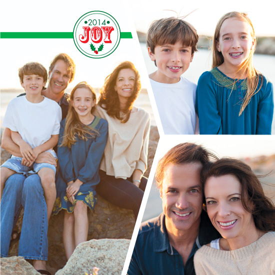 holiday photo cards - Simple Joy's by Christina Pena Pittre