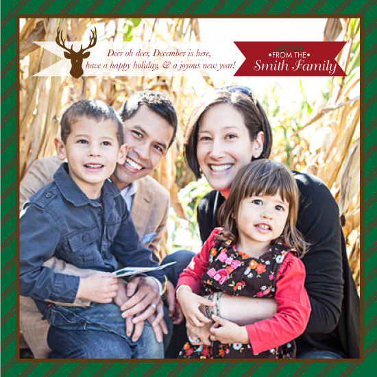 holiday photo cards - Deer oh Deer December is here! by Christina Pena Pittre