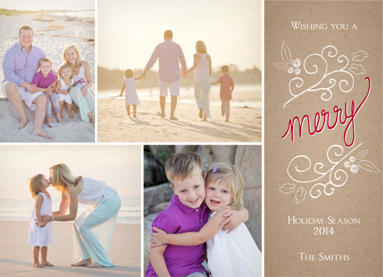 holiday photo cards - Merry Inside by Yvette Slaney