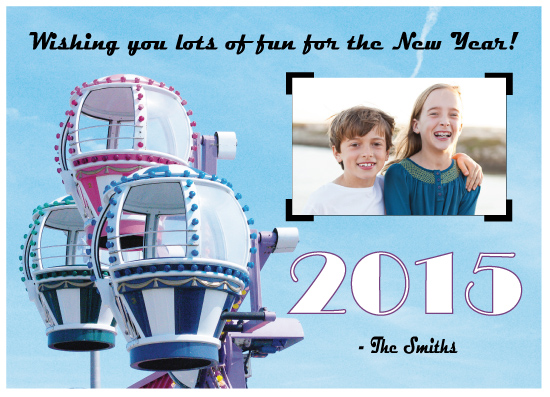 holiday photo cards - Ride in the Sky 2015 by Jaclyn Del Vacchio