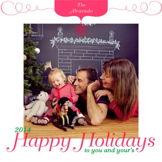 holiday photo cards - simple holiday by Christina Pena Pittre