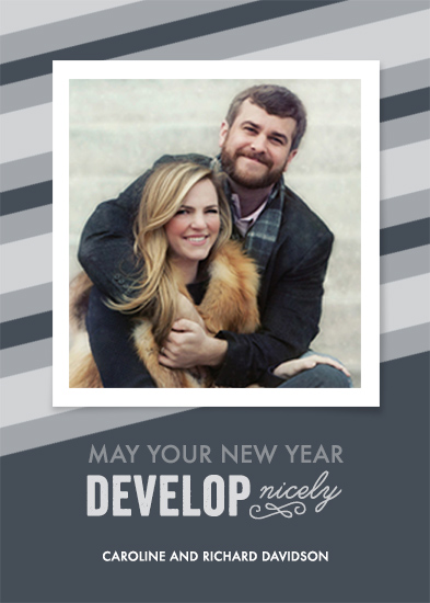 holiday photo cards - New (Year) Developments by Kristal McKenzie