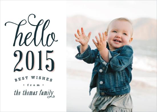 holiday photo cards - Oh, Hello 2015 by Hooray Creative