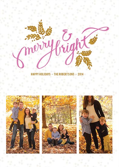 holiday photo cards - Hand-crafted Holiday by Annette Allen
