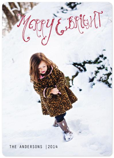 holiday photo cards - love happens by Neeta Sawhney