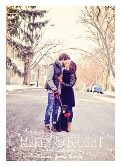 holiday photo cards - *Merry & Bright* by Kelly de Godoy