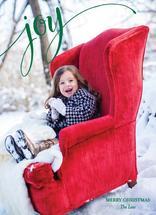 Santa's Chair by Kelly Bains
